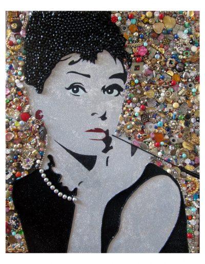Audrey cm 100 x 100 Bijoux rotti 2014