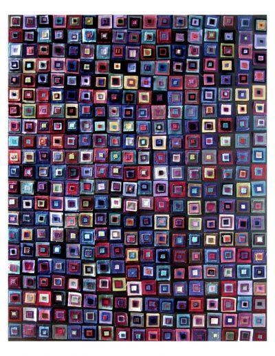 Blu cm 100 x 70 Stoffe 2014