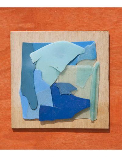 Blu cm 20 x 20 Plastica dal Mare 2006