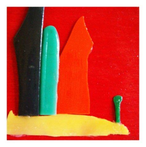 Il Faro cm 10 x 10 Plastica dal Mare 2006