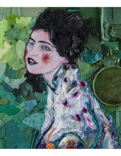 Klimt cm 90 x90 Plastica dal Mare 2013