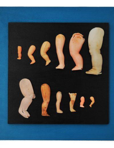Legs cm 40 X 40 Plastica dal Mare 2012