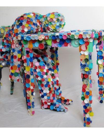 Me Tappino cm 110 x 95 x 65 Plastica dal Mare 2010