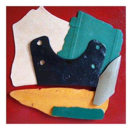 Policromia Indelebile cm 40 x 40 Plastica dal Mare 2008