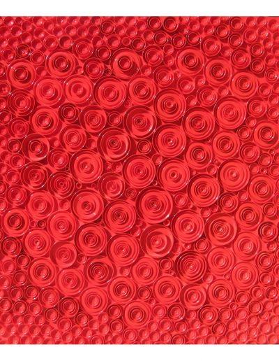 Red cm 90 x 90 Coperchi di Metallo 2014